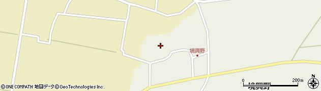 山形県酒田市境興野中ノ坪93周辺の地図