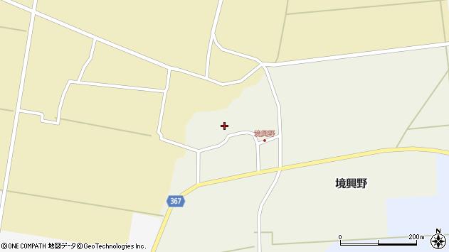 山形県酒田市境興野中ノ坪124周辺の地図