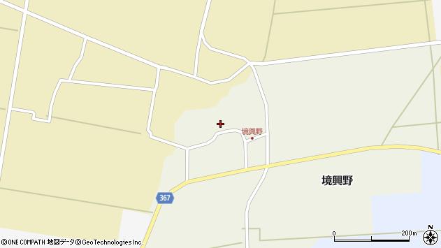 山形県酒田市境興野中ノ坪123周辺の地図