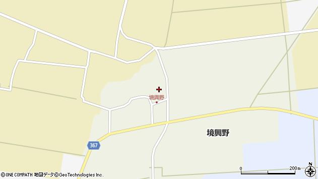 山形県酒田市境興野中ノ坪104周辺の地図