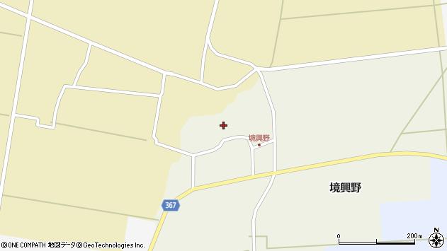 山形県酒田市境興野中ノ坪122周辺の地図