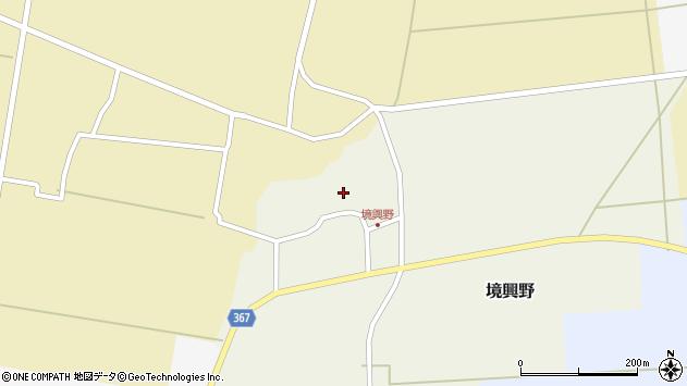 山形県酒田市境興野中ノ坪109周辺の地図