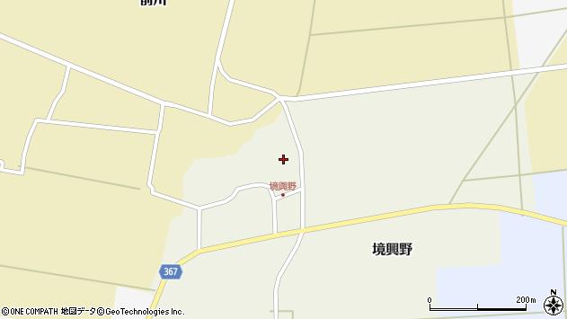山形県酒田市境興野中ノ坪113周辺の地図
