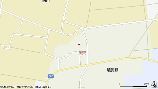 山形県酒田市境興野中ノ坪112周辺の地図
