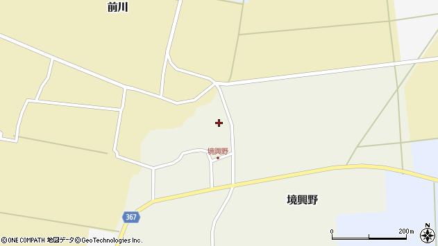 山形県酒田市境興野中ノ坪116周辺の地図