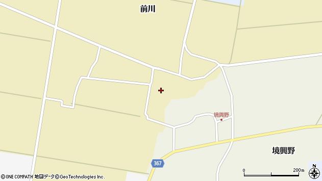 山形県酒田市前川楯前35周辺の地図
