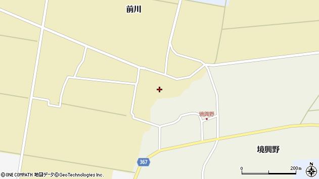 山形県酒田市前川楯前31周辺の地図