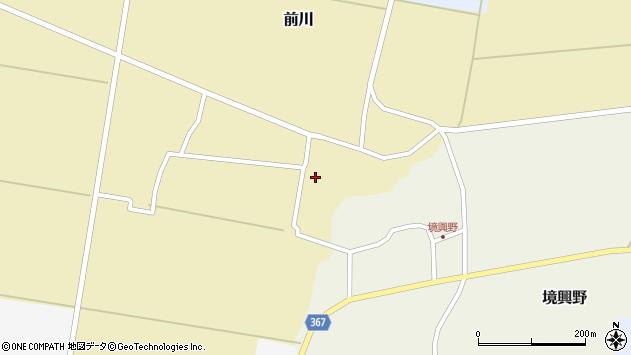 山形県酒田市前川楯前37周辺の地図