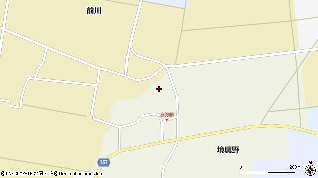 山形県酒田市境興野中ノ坪118周辺の地図
