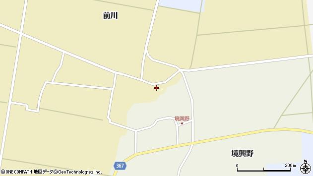 山形県酒田市前川楯前4周辺の地図