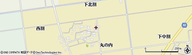 山形県酒田市上野曽根下北割30周辺の地図