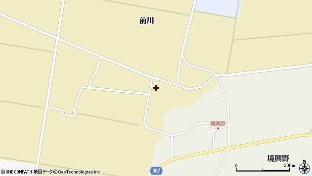 山形県酒田市前川楯前25周辺の地図