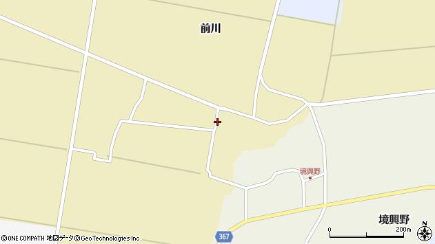 山形県酒田市前川楯前24周辺の地図