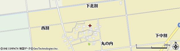 山形県酒田市上野曽根下北割99周辺の地図