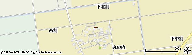 山形県酒田市上野曽根下北割109周辺の地図