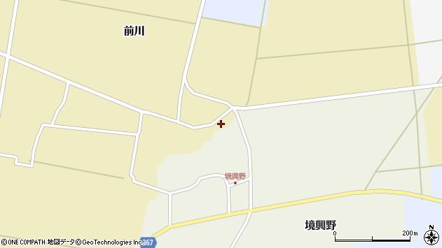 山形県酒田市前川後田35周辺の地図