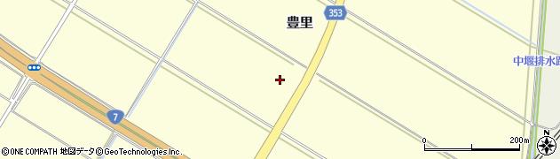 山形県酒田市豊里南割沼田周辺の地図