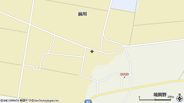 山形県酒田市前川楯前26周辺の地図