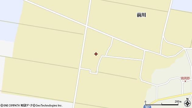 山形県酒田市前川宮田28周辺の地図