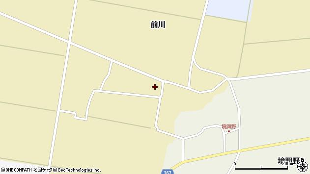 山形県酒田市前川前田51周辺の地図