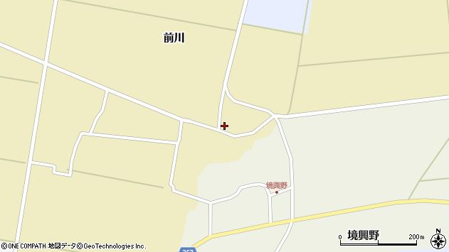 山形県酒田市前川楯前11周辺の地図