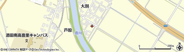 山形県酒田市豊里芦原89周辺の地図