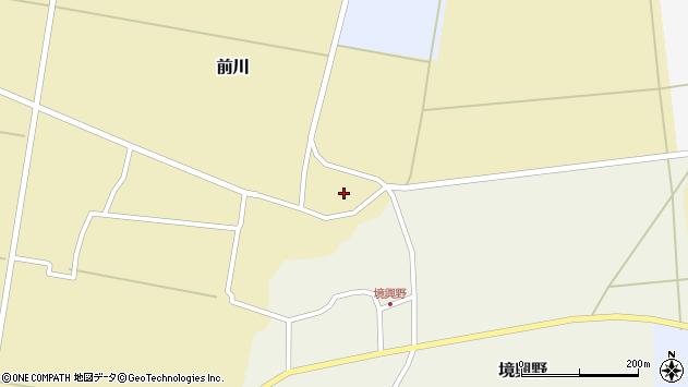 山形県酒田市前川楯前1周辺の地図
