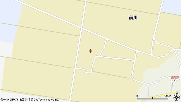 山形県酒田市前川宮田27周辺の地図