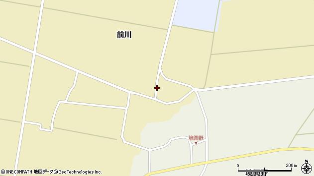 山形県酒田市前川楯前10周辺の地図