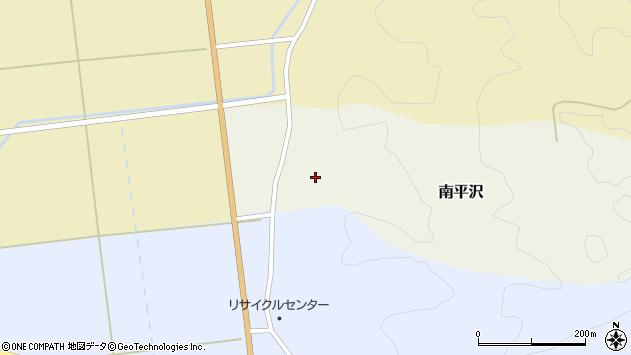 山形県酒田市南平沢大道東64周辺の地図