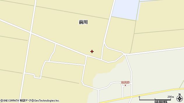 山形県酒田市前川楯前17周辺の地図