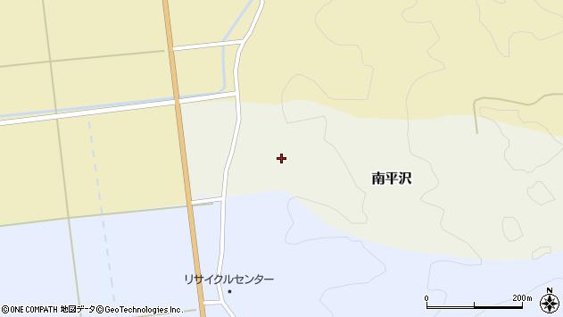 山形県酒田市南平沢大道東58周辺の地図