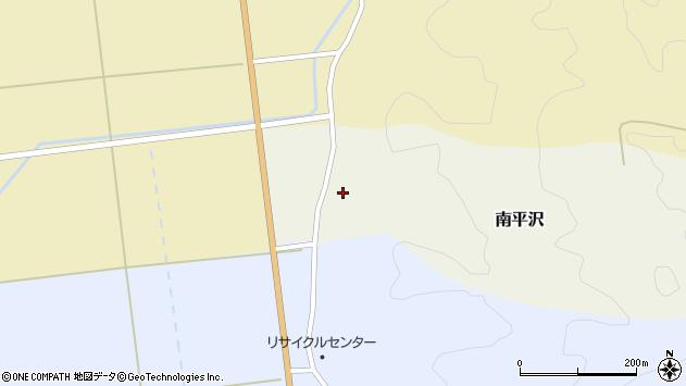 山形県酒田市南平沢大道東66周辺の地図