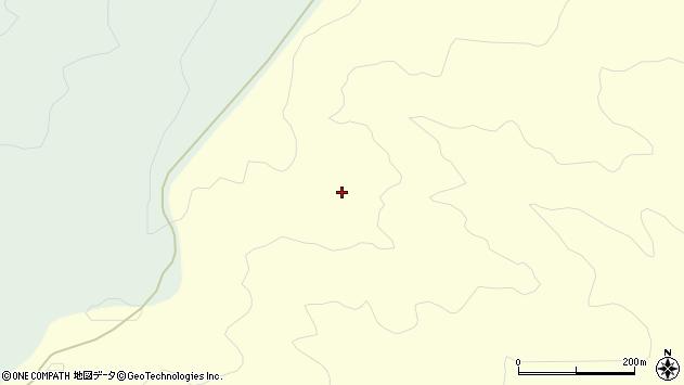 山形県酒田市北俣愛沢長根周辺の地図