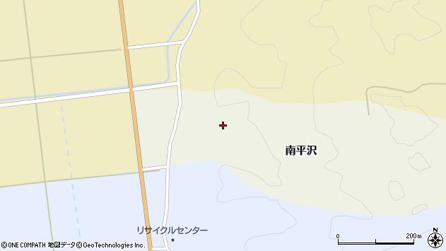 山形県酒田市南平沢周辺の地図