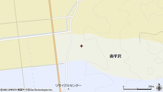 山形県酒田市南平沢大道東周辺の地図