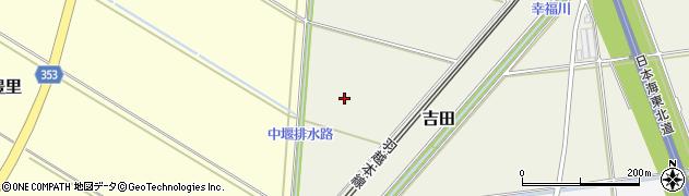 山形県酒田市吉田下谷地周辺の地図