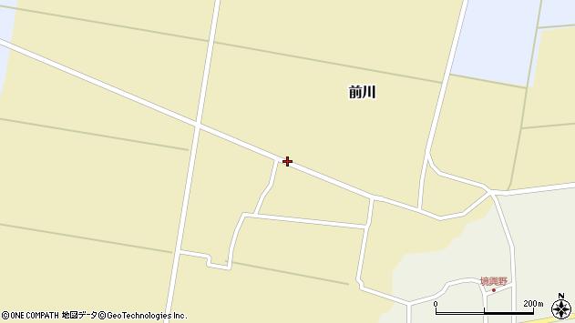 山形県酒田市前川鶴田64周辺の地図