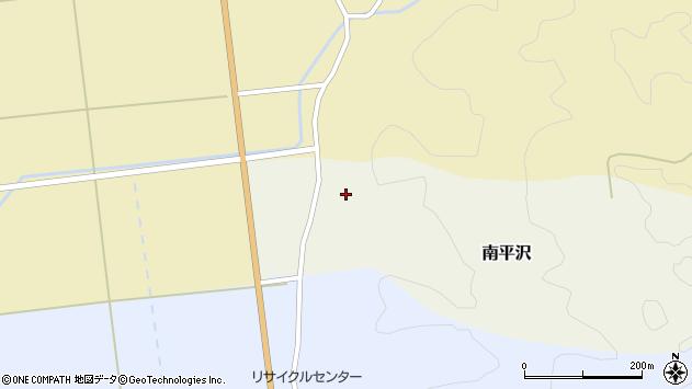 山形県酒田市南平沢大道東61周辺の地図