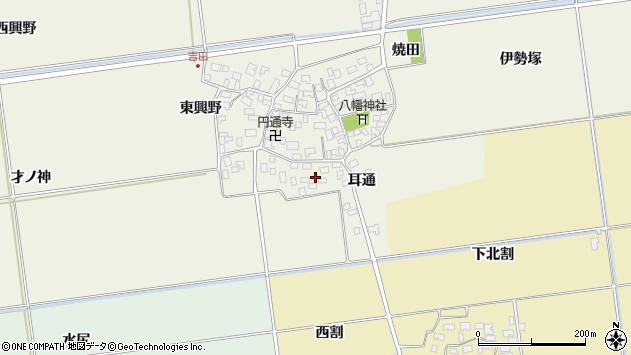 山形県酒田市吉田才ノ神15周辺の地図