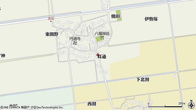 山形県酒田市吉田才ノ神4周辺の地図