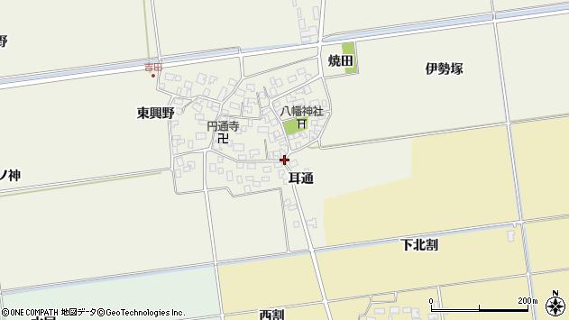 山形県酒田市吉田才ノ神2周辺の地図