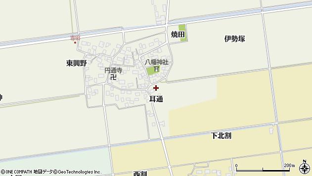 山形県酒田市吉田伊勢塚71周辺の地図