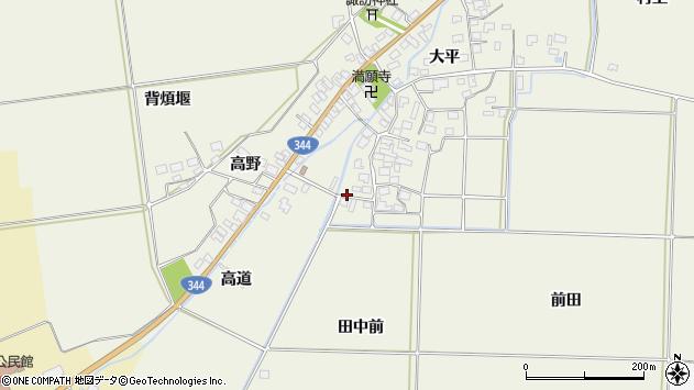 山形県酒田市安田大平196周辺の地図