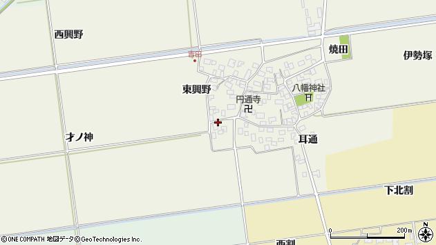 山形県酒田市吉田才ノ神57周辺の地図