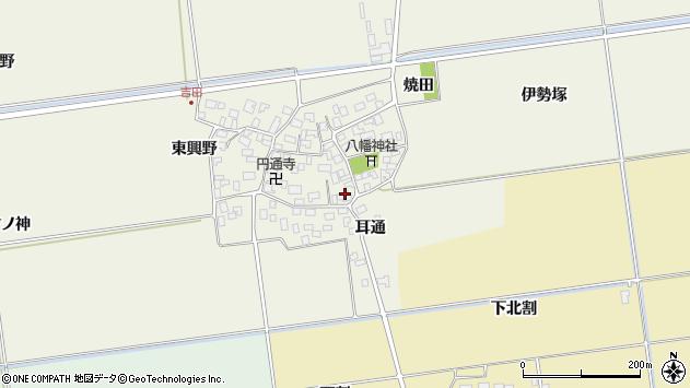 山形県酒田市吉田伊勢塚80周辺の地図
