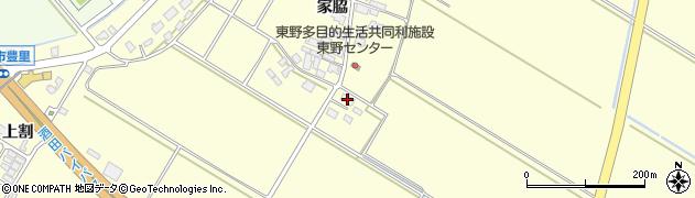 山形県酒田市豊里家脇51周辺の地図