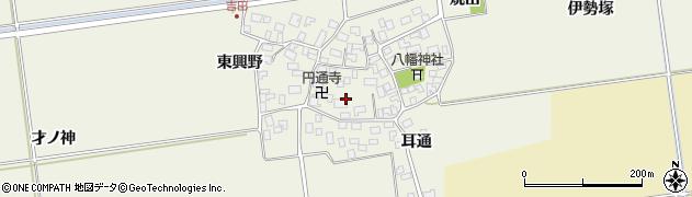 山形県酒田市吉田伊勢塚100周辺の地図
