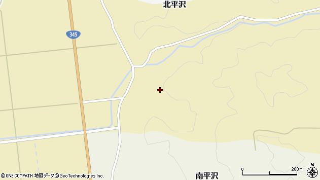 山形県酒田市北平沢盛沢44周辺の地図
