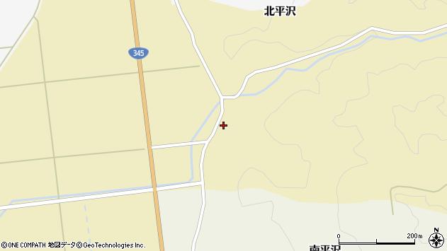 山形県酒田市北平沢稲荷町72周辺の地図